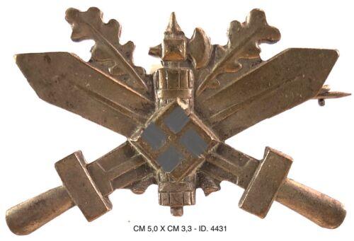 RSI FASCISMO ADDESTRAMENTO IN GERMANIA distintivo d'Onore Divisioni San Marco...