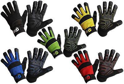 Mechanics Work Gloves Grip Washable Safety Protection Air Mesh Gardening Diy