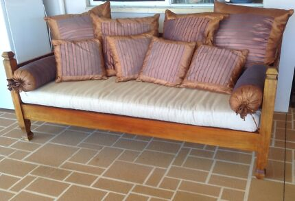 Outdoor Timber/ Rattan Daybed Brisbane Region Preview