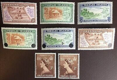 Tokelau 1948-67 Sets Mostly MNH