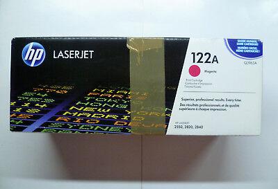 HP original Toner Q3963A 122A magenta LaserJet 2550 2820 2840 -- ungeöffnete OVP gebraucht kaufen  Werl