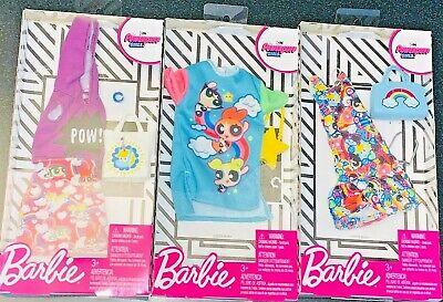 Barbie The Powerpuff Girls Curvy Clothes Outfit Fashion Pack You - Powerpuff Girls Outfit