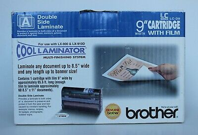 Genuine Brother Lc-d9 Double Side Cool Laminator 9 Cartridge With Film