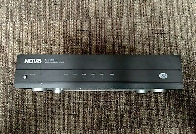 (Nuvo Essentia E6DM Whole House 6 zone Stereo Amp, Refurbished WITH EXCHANGE)