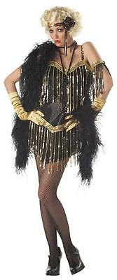 20's Jazzy Baby Fashion Flapper Adult Costume - Baby Flapper Costume