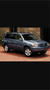 Looking for a Toyota Highlander