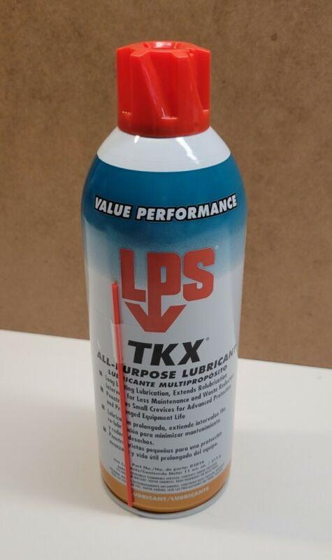 LPS 02016 All Purpose Lubricant, TKX Aerosol Can, Net Fill 11 oz.
