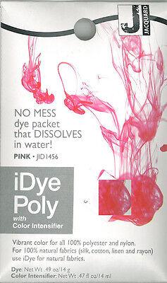 IDye Poly  PINK  456    zum Färben von Polyester und Nylon, Polyester Farbe