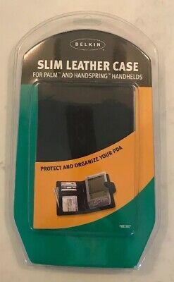 Belkin Leather Flip Case for Palm & Handspring Handhelds NEW
