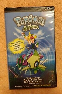 Pokemon 4Ever (VHS, 2003) SHIPS FAST!