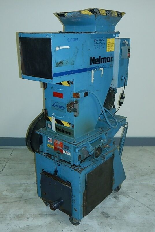 Nelmor G1012p1 Granulator, 7.5 Hp, 460v, Yr. 1992 #7623