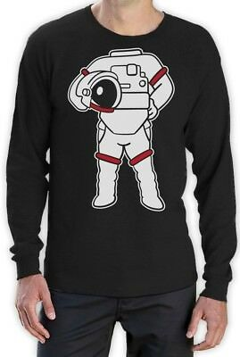 Astronaut Easy Costume - Funny Space Suit Print Long Sleeve T-Shirt Gift Idea