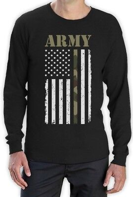 Big U.SA Army Flag - Best Gift Idea for Soldiers, Veterans Long Sleeve