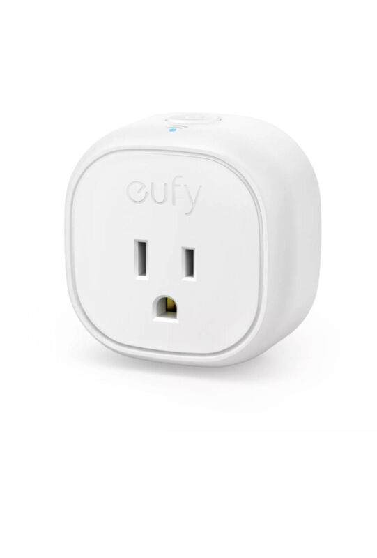 eufy Smart Plug No Hub Required Wi-Fi Enabled Set Schedules Countdown Timer