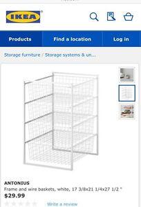 IKEA wire racks