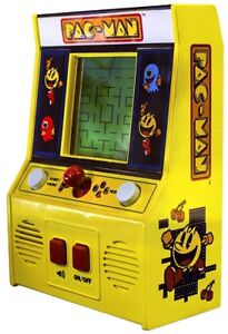 Handheld Pac-Man Arcade Game