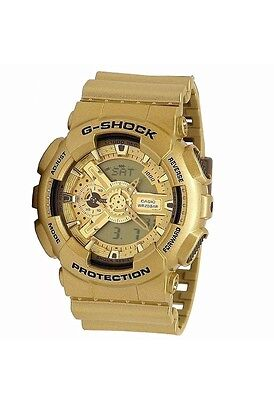 CASIO G-SHOCK Limited Edition Bright Gold Color Watch GA-110GD-9A GA110GD-9A