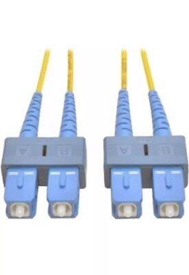 Tripp Lite N356-01m Fiber Optic Patch Cable Network 1m 8.3 125 Fo Cablesc Sc