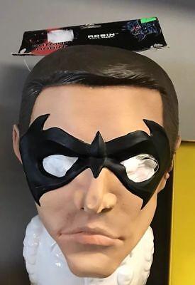 Maschera Vintage Robin&Batman Full Mask Collegeville Style N.52018 One Size