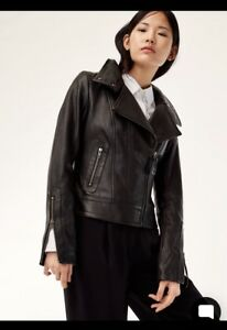 Mackage Kenya Leather Jacket xxs