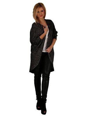 Wolfairy Womens Autumn Italian Quirky Cardigan Jacket Plus Size Sweater