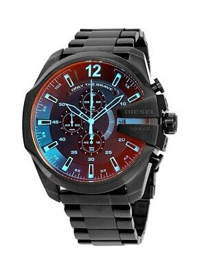 DZ4318 Mega Chief Black Ion-plated Stainless Steel 51mm Men's Chronograph Watch