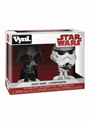 Star Wars DARTH VADER & STORMTROOPER - Funko VYNL POP Figure Bobbleheads