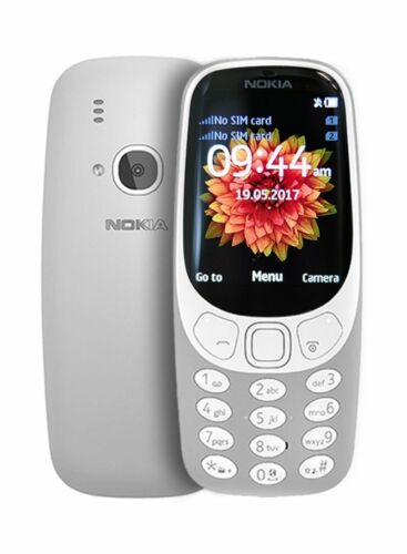 BOXED+SEALED+NOKIA+3310+64MB+%28GREY%29+-+UNLOCKED+-+48+HR+DELIVERY%21