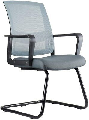 Clatina Office Guest Chair With Lumbar Support And Mid Back Mesh Bifma Certified