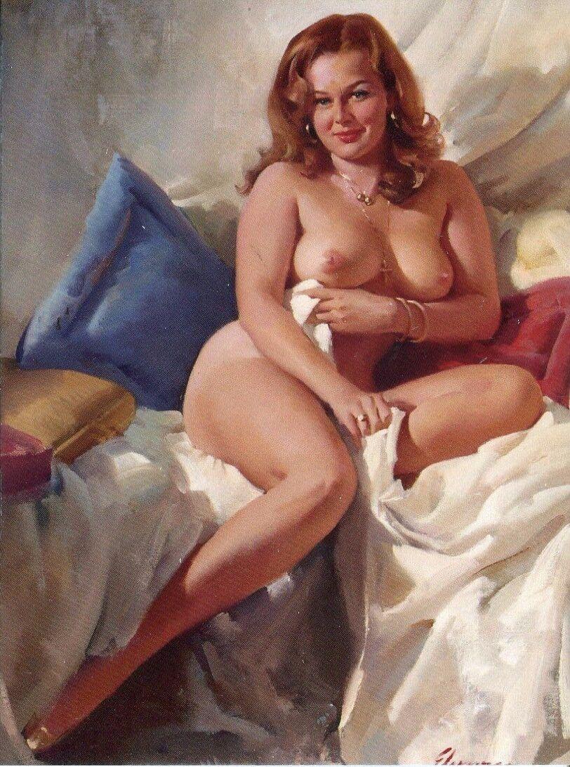Pin up women nude