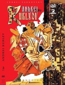 ANDREI RUBLEV RUSSIAN HISTORY DRAMA TARKOVSKY ENGLISH FRENCH AUDIO & SUBTITLES