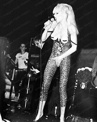 8x10 Print Wendy O'Williams and the PLASMATICS #4834