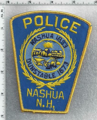 Nashua Police (New Hampshire) 2nd Issue Shoulder Patch