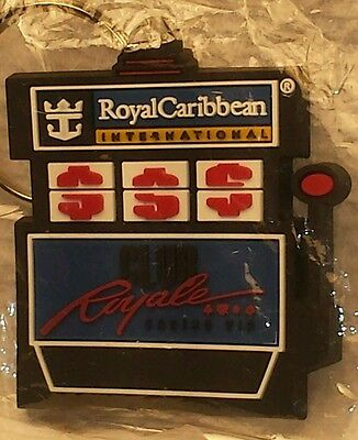 Royal Caribbean International Club Royal Casino Vip Keychain