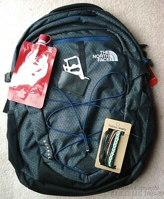 "NEW/NWT SCHOOL/17"" LAPTOP SPECIAL BLACK NORTH FACE BOREALIS BACKPACK +BONUSES"