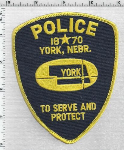 York Police (Nebraska) 3rd Issue Shoulder Patch