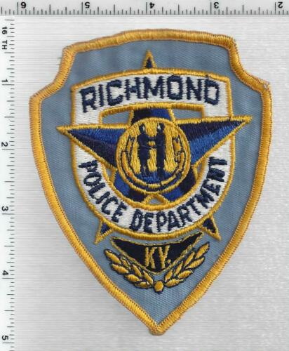 Richmond Police (Kentucky) 1st Issue Shoulder Patch