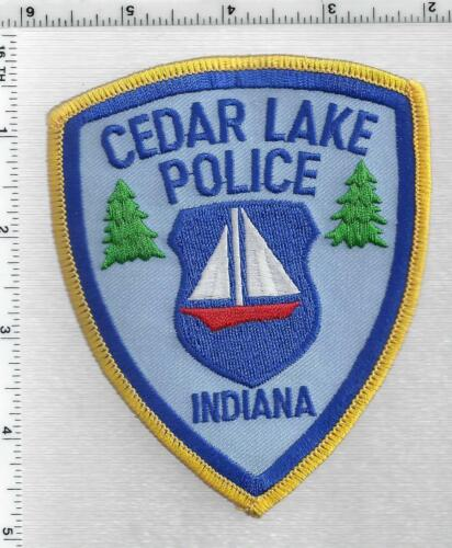 Cedar Lake Police (Indiana) 2nd Issue Shoulder Patch