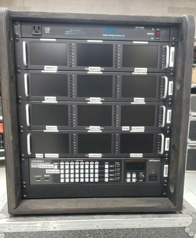 Roland XS-84H Matrix Video Switcher Scaler