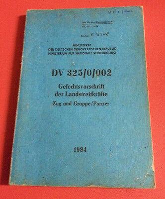 """NVA Handbuch / Dienstvorschrift """" Gefechtsvorschrift der Landstreitkräfte """" 1984"""