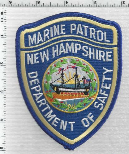 Department of Safety Marine Patrol (New Hampshire) 1st Issue Shoulder Patch
