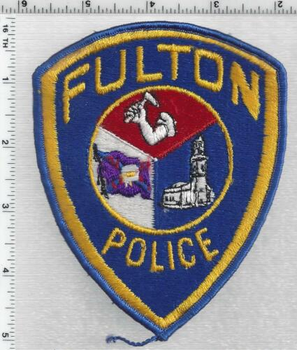 Fulton Police (Missouri) 1st Issue Shoulder Patch