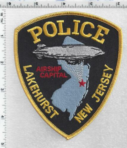 Lakehurst Police (New Jersey) 2nd Issue Shoulder patch
