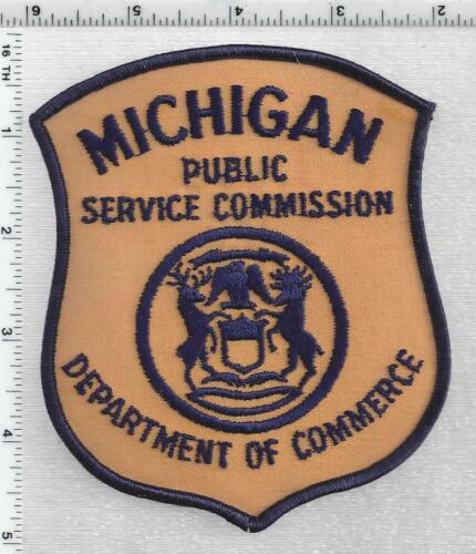 Public Service Commission Dept of Commerce (Michigan) 1st Issue Shoulder Patch