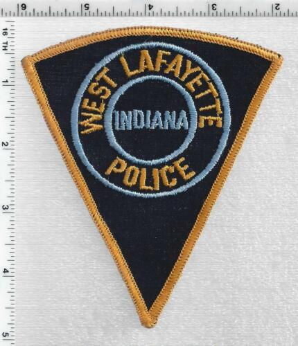 West Lafayette Police (Indiana) 1st Issue Shoulder Patch