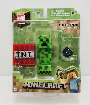 Minecraft Overworld Creeper Series #1 Fully Articulated Action Figure NIB!!!
