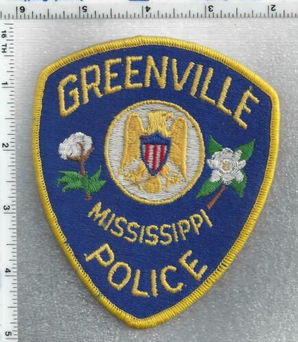 Greenville Police (Mississippi) 3rd Issue Shoulder Patch