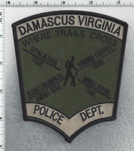 Damascus Police (Virginia) 2nd Issue Subdued Shoulder Patch