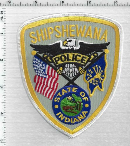 Shipshewana Police (Indiana) 1st Issue Shoulder Patch