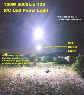New Release LED Panel Camping Lighting Kits 12V Remote Control